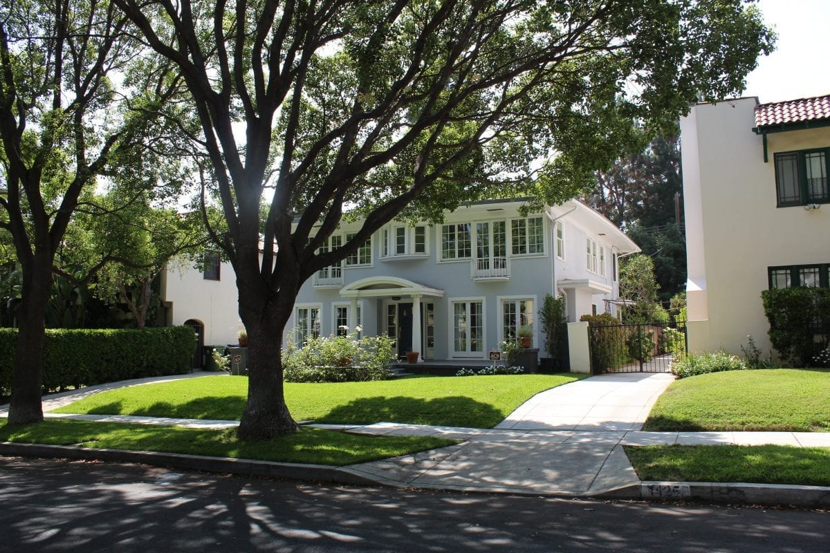 Glen Lantz house in A Nightmare on Elm Street
