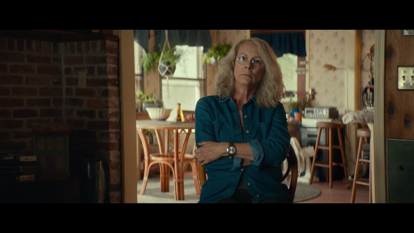 Jamie Lee Curtis is back as Laurie Strode in Halloween