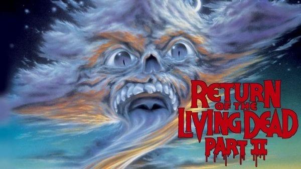 Return of the Living Dead 2 film poster