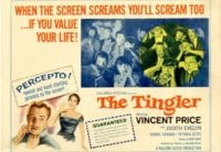 The poster for The Tingler