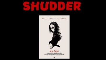 The Crow poster for shudder