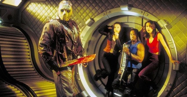 Jason Voorhees still going strong 500 years in the future in Jason X