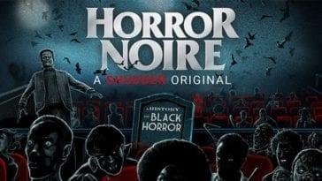 Movie poster for Horror Noire