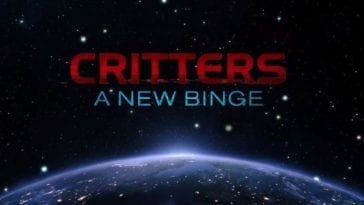 Title image from Shudder series Critters: A New Binge.