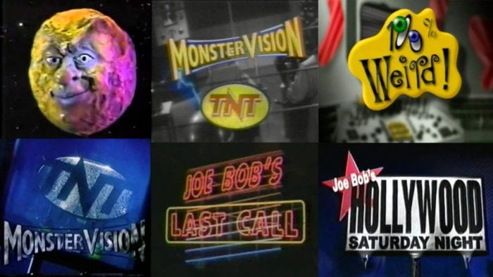Monstervision logos collage