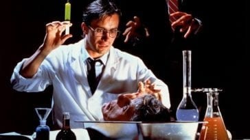 The scientist from Re-Animator