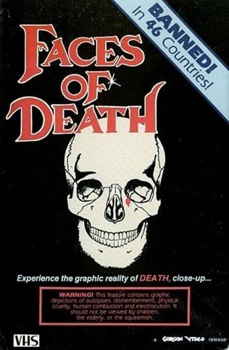 Faces of Death Box Art