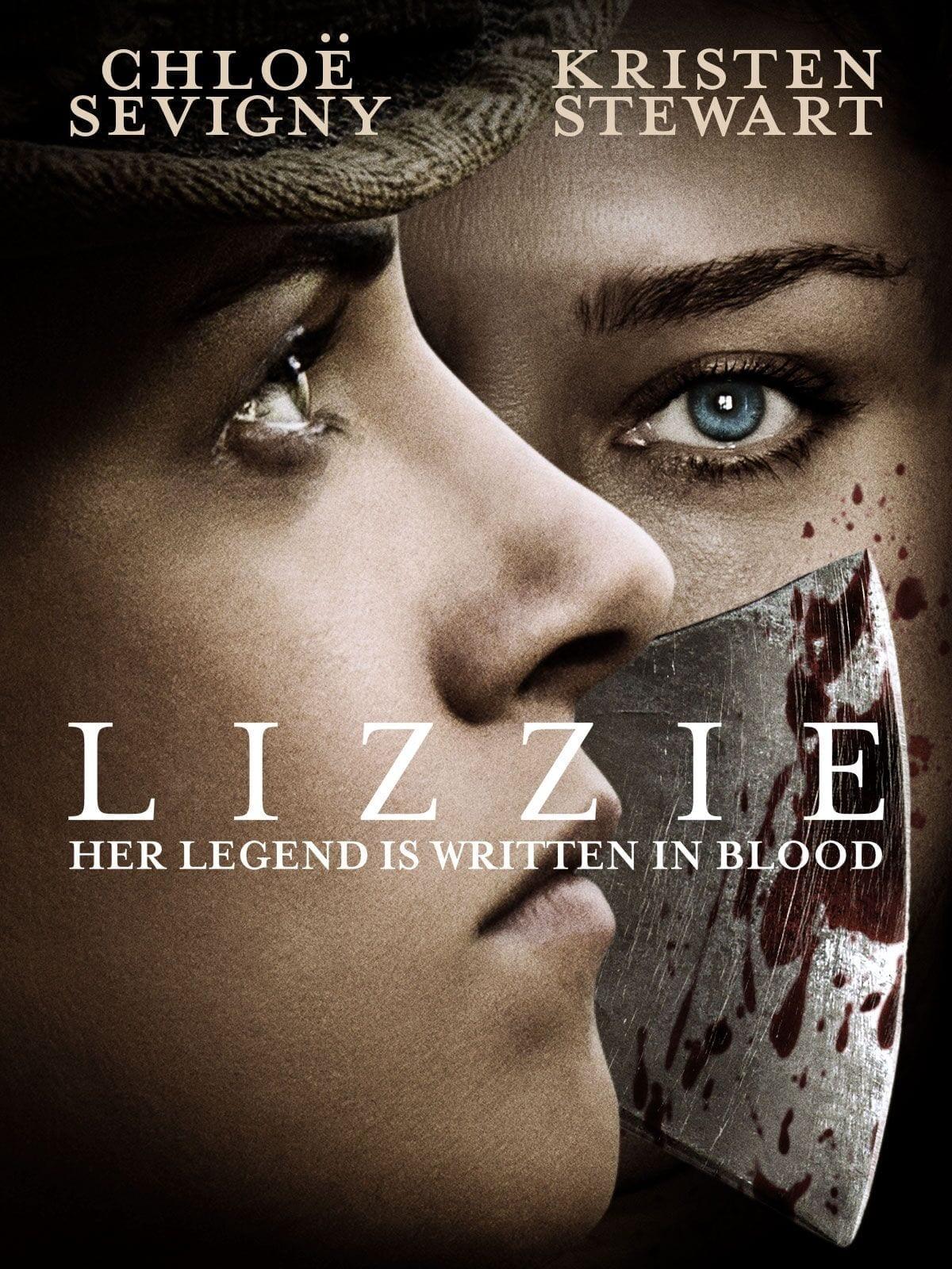 Poster for Lizzie starring Chloe Sevigny and Kristen Stewart