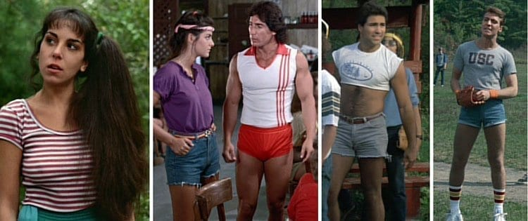 80s fashion at its best in Sleepaway Camp