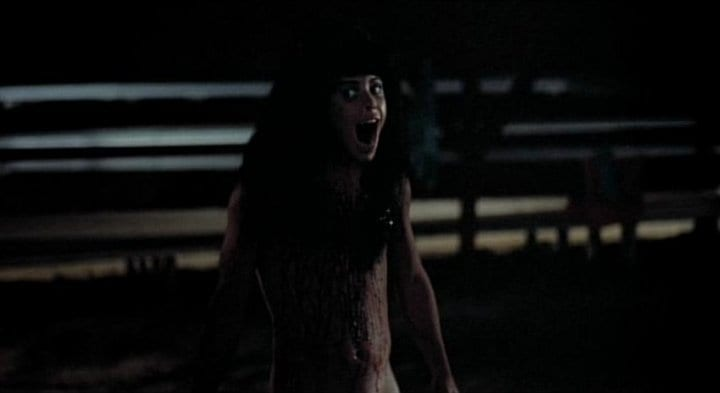 Angela in the final moments of Sleepaway Camp