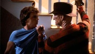 Freddy Krueger threatens Jesse