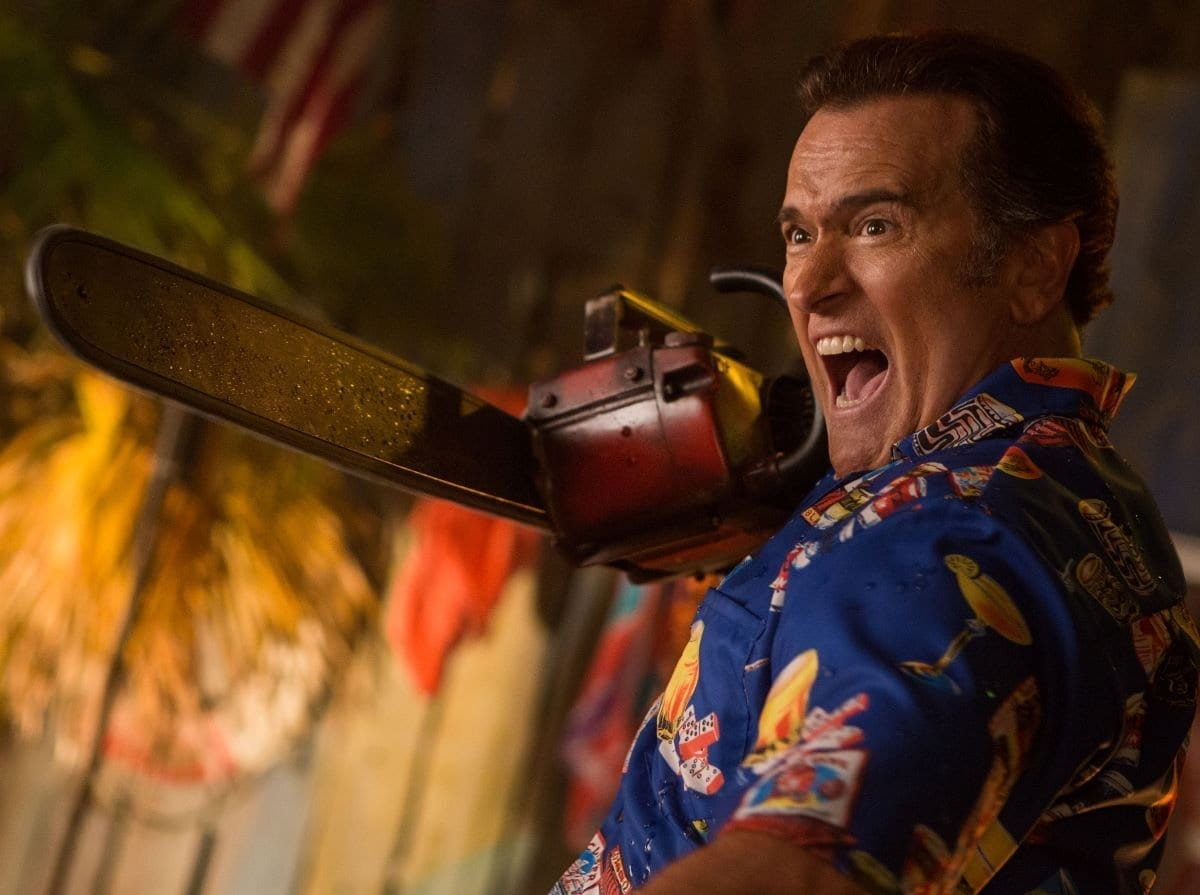By the time we get to Ash vs Evil Dead, Ash is a very different character.