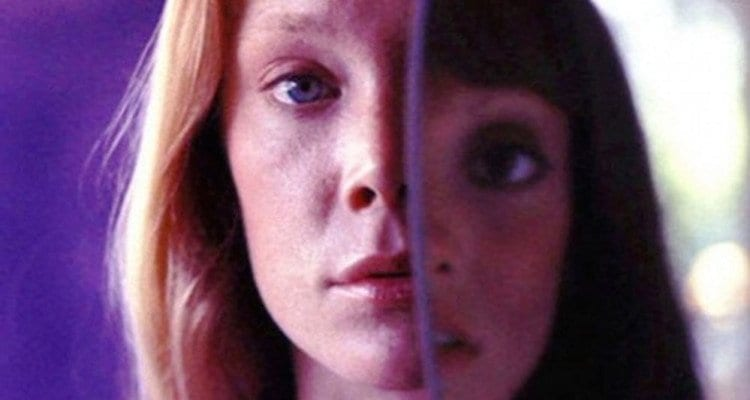 Pinky (Sissy Space, left) and Millie (Shelley Duvall, righ) go through multipled identities during the course of 3 Women (1977).