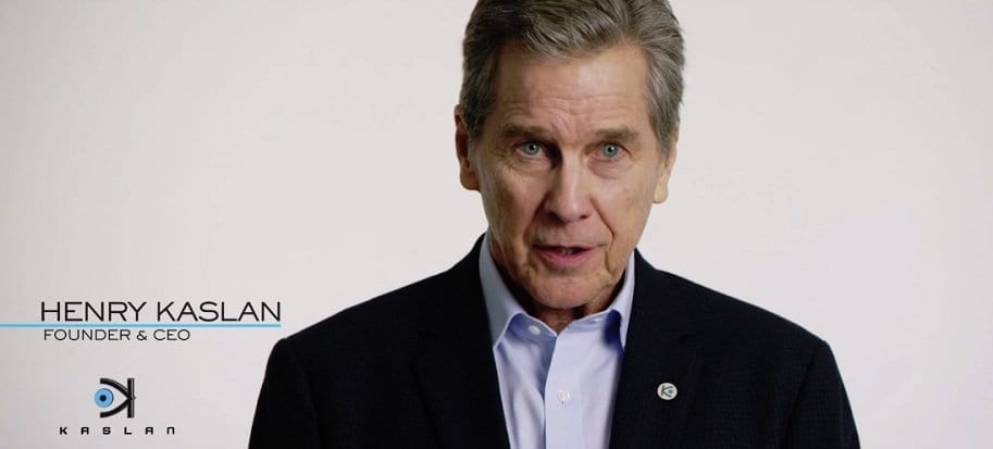 The CEO and face of Kaslan Corporation (Tim Matheson) in Child's Play (2019).