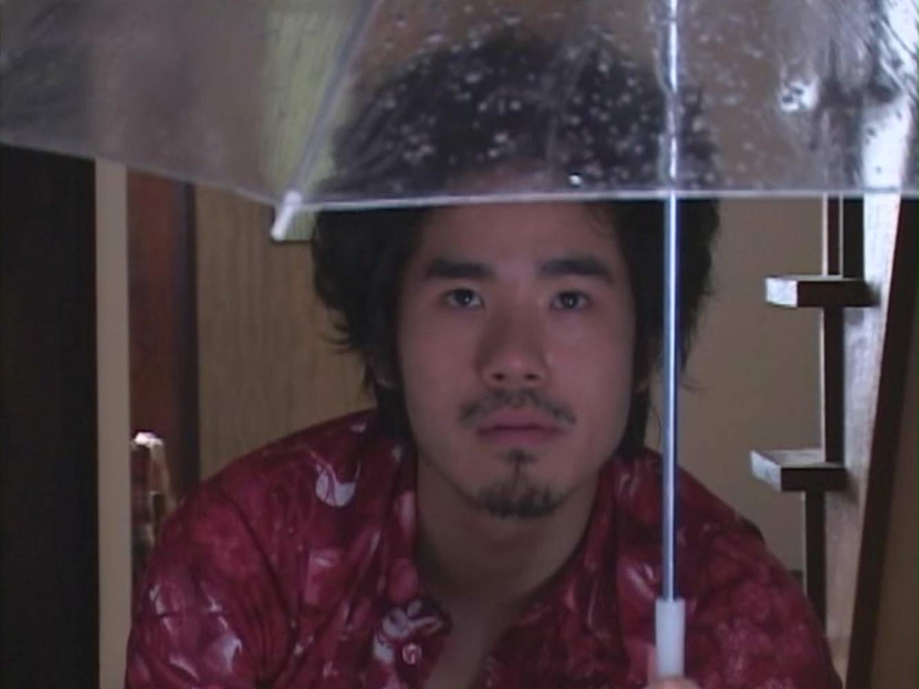 Kazushi Watanabe as The Visitor in The Visitor Q