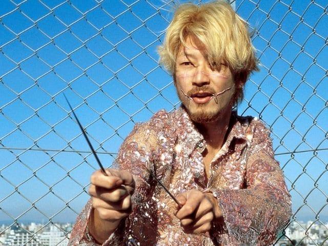 Tadanobu Asano as Kakihara in Ichi the Killer