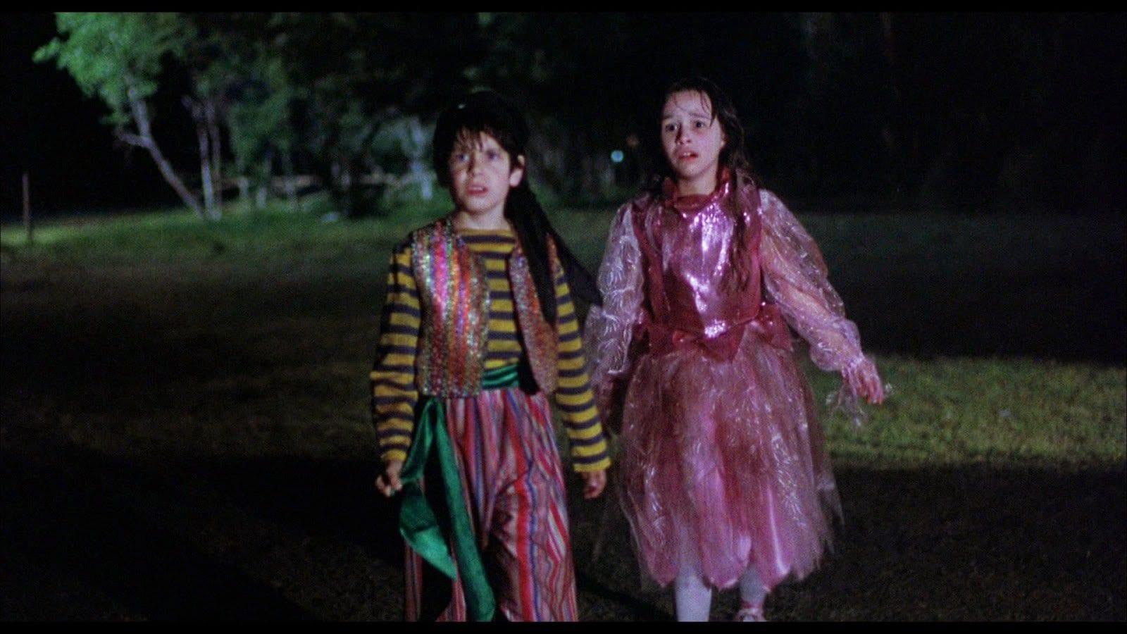 Jeffrey Landman and Danielle Harris in 'Halloween 5'