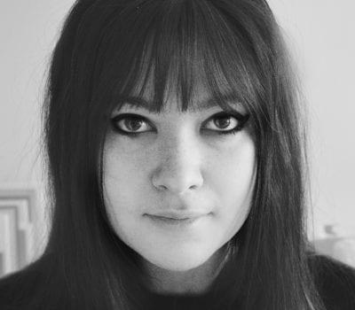Sydney Clara Brafman portrait in black and white
