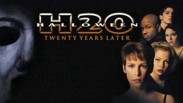 Halloween H20 movie cover