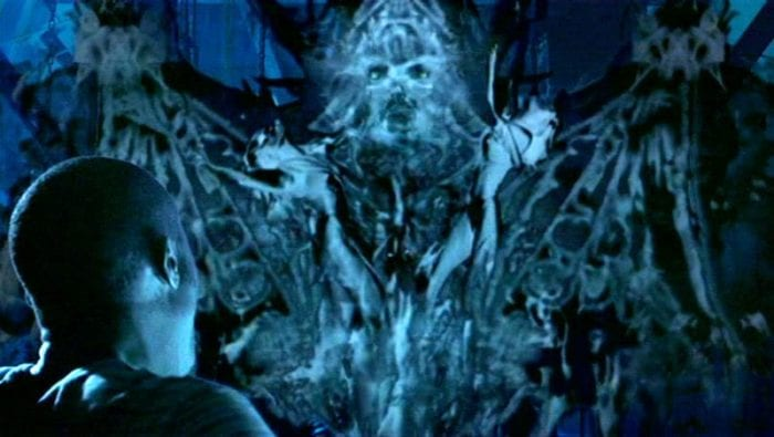 The last ghost in the finale of House on Haunted Hill looks somewhat like an inkblot.