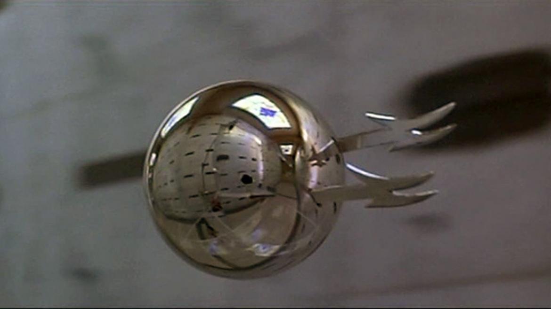 The flying, killer, oversized pinball machine ball from Phantasm