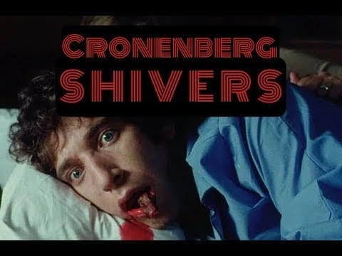 Movie poster for Shivers