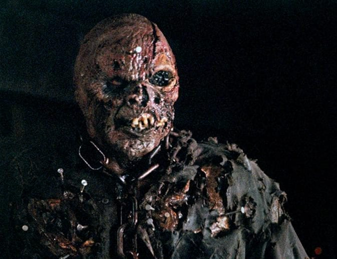 Jason Voorhees without his mask