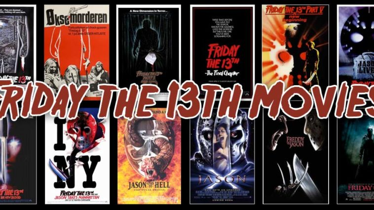 fri 13th posters