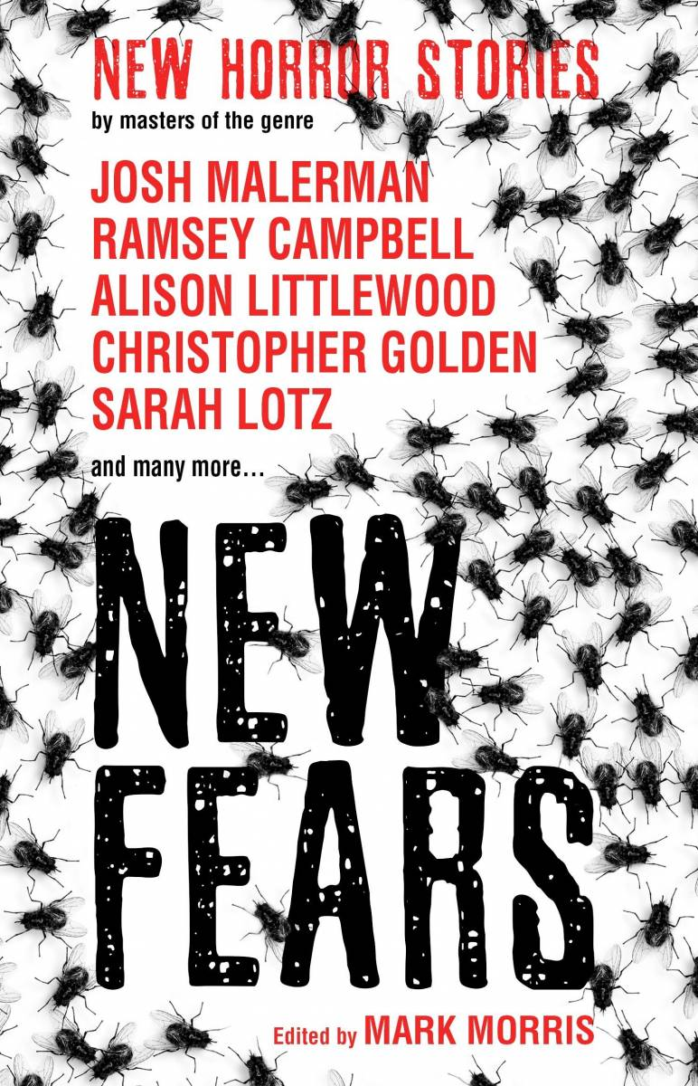 Front cover of the book New Fears: New Horror Stories