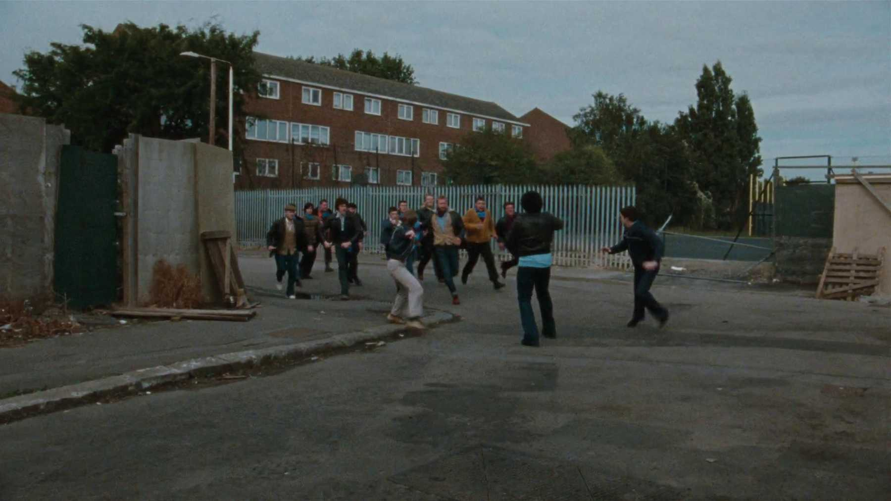 A street fight in British movie Cass