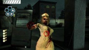 zombie nurse with reticle
