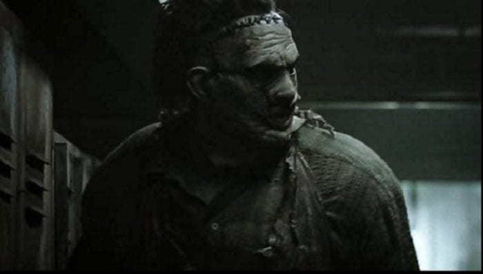 Leatherface searches for a victim