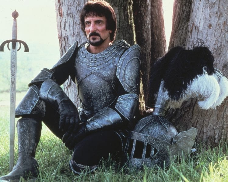 Savini in one of his acting roles