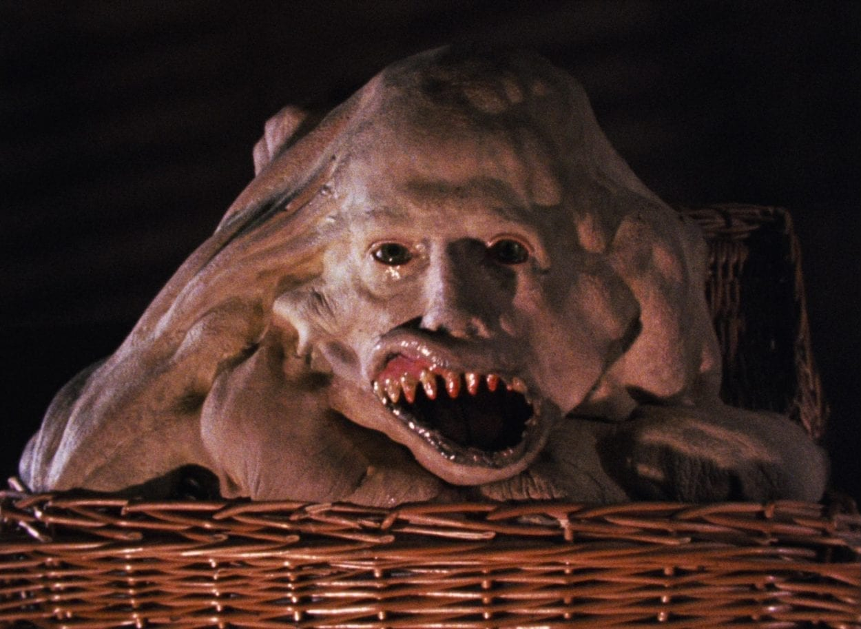 Monster in a basket