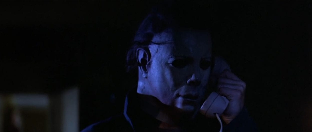 Michael Myers' look/mask in Halloween (1978)