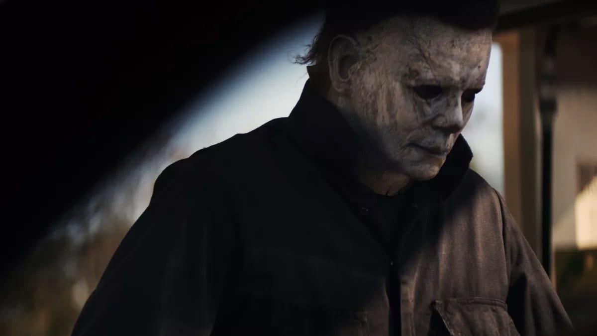 Michael Myers' look in Halloween (2018)