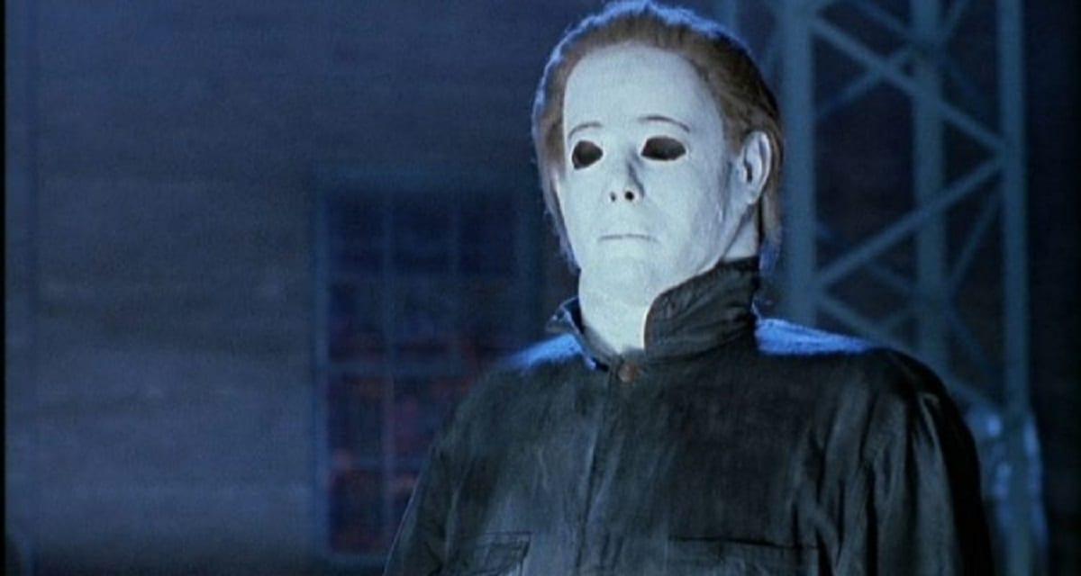 Michael Myers look/mask in Halloween 4.