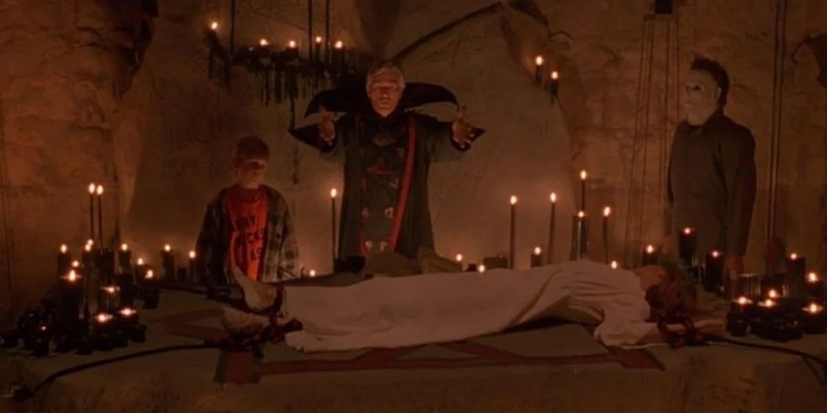 Thorn ritual in Halloween 6.