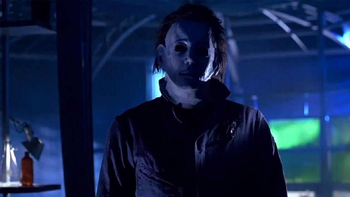 Michael Myers' look/mask in Halloween 6.