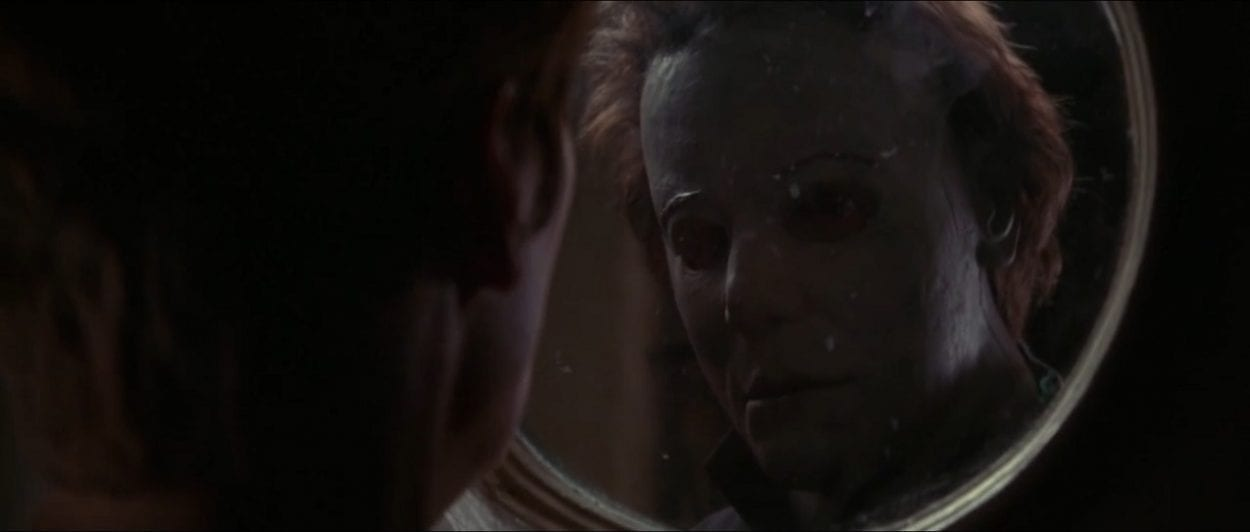 Michael Myers' look/mask in Halloween H20