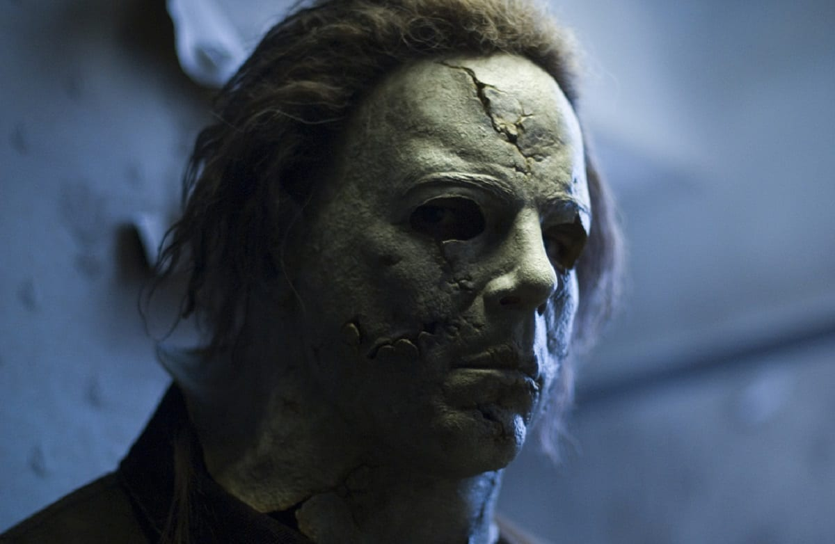 Michael Myers' look/mask in Rob Zombie's Halloween.