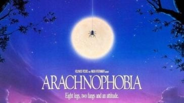 Arachnophobia movie poster featured image