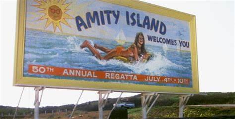 Amity Island Regatta Sign