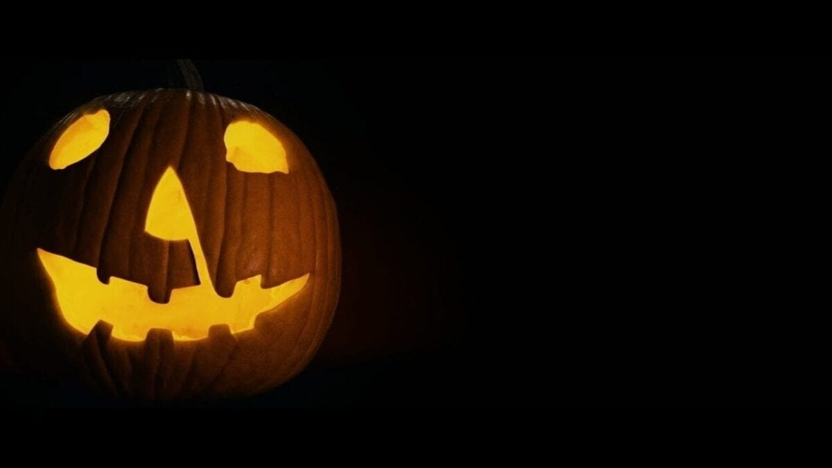 The iconic Halloween pumpkin from the 1978 classic