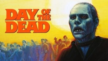 George Romero's Day of the Dead movie poster