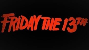 Friday the 13th splash logo.