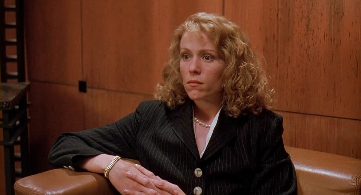 Frances McDormand as Julie Hastings in Darkman