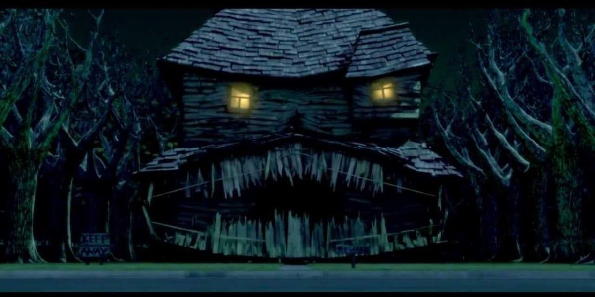 House in Monster House mid-scream