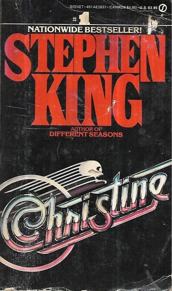 cover of the Signet paperback for Stephen King's novel Stephen King