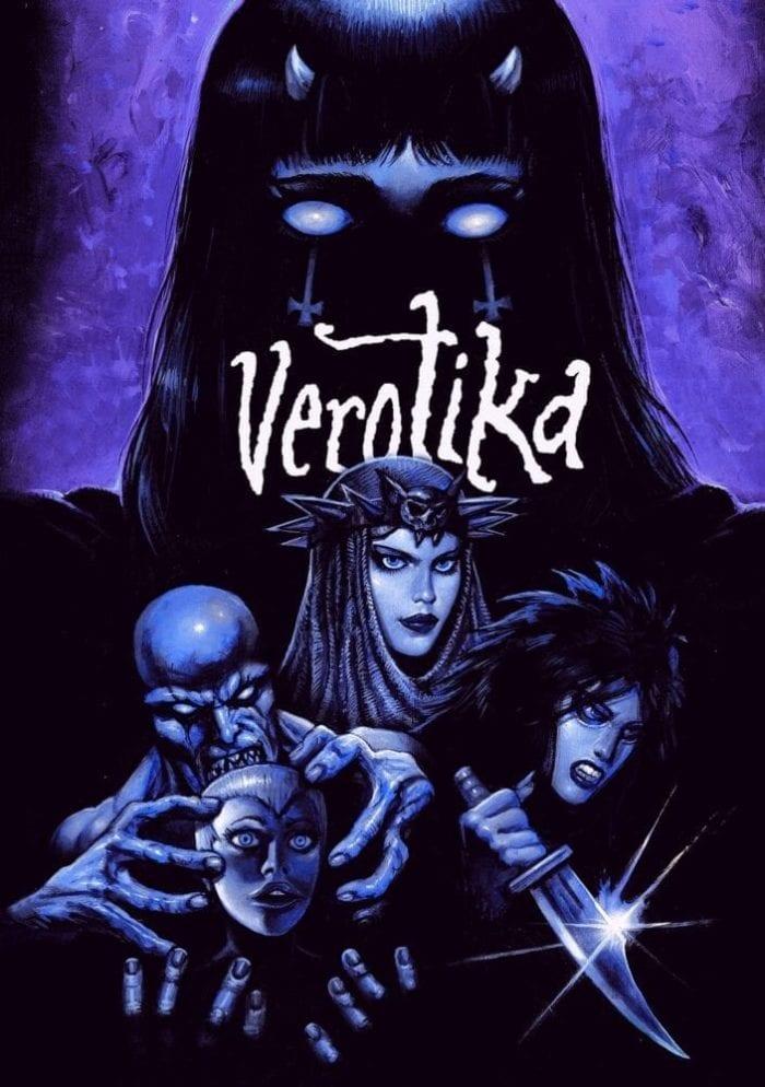 movie poster for verotika